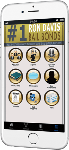 Ron Davis Bail Bond App For iPhone